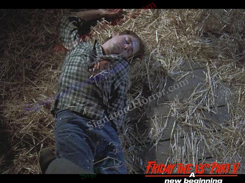 John Shepherd - Friday the 13th Part V - Barn 10 - 8X10