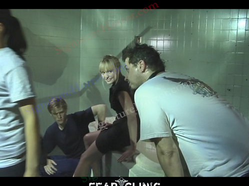 Lisa Wilcox - Fear Clinic - Behind the Scenes 1 - 8X10