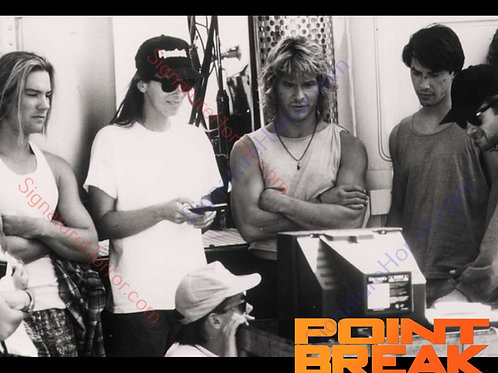 BoJesse Christopher - Point Break - Behind the Scenes Black and White - 8X10