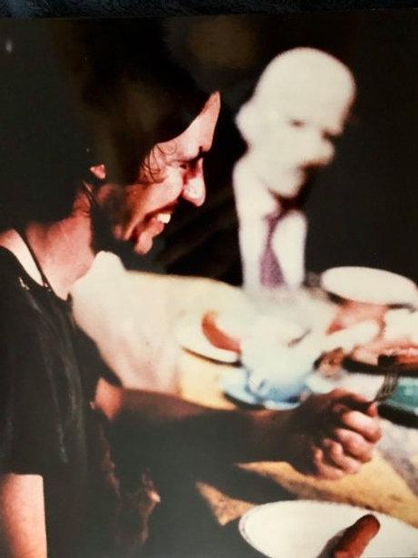Ed Neal and John Dugan The Texas Chainsaw Massacre - with Grandpa Background - 8
