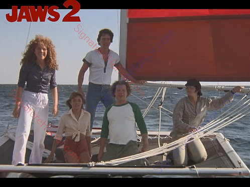 Donna Wilkes - Jaws 2 - Failed Rescue 1 - 8X10