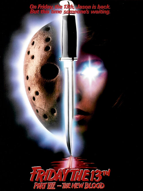 Lar Park-Lincoln Friday the 13th Part VII: The New Blood Movie Poster