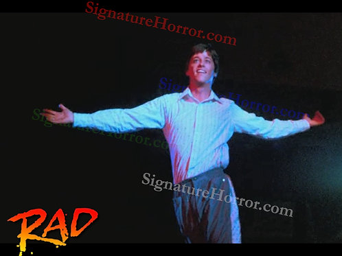 Bill Allen as Cru Jones in RAD - Dance 4 No Hands - 8X10
