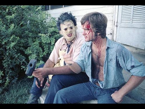 Bill Vail The Texas Chainsaw Massacre - With Gunnar Hansen Profile - 8X10