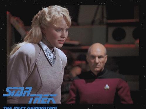 Lisa Wilcox - Star Trek: TNG - With Picard 4 - 8X10