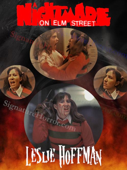 Leslie Hoffman - Nightmare on Elm Street - Collage - 8X10