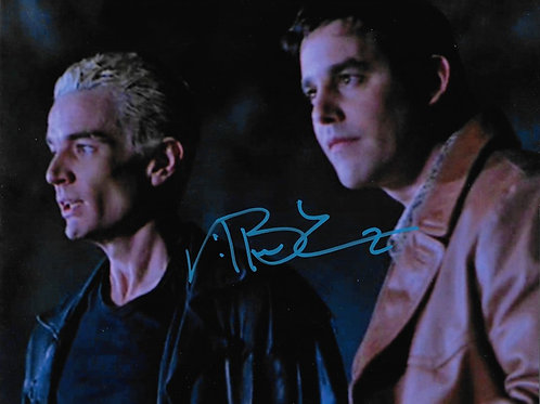 Nicholas Brendon signed 8X10 with Spike