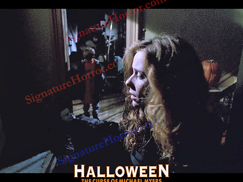 Marianne Hagan - Halloween 6 - with Michael Myers and Danny - 8X10