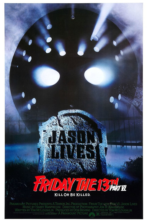11X17 Jason Lives: Friday the 13th Part VI Poster - Signed by Multiple
