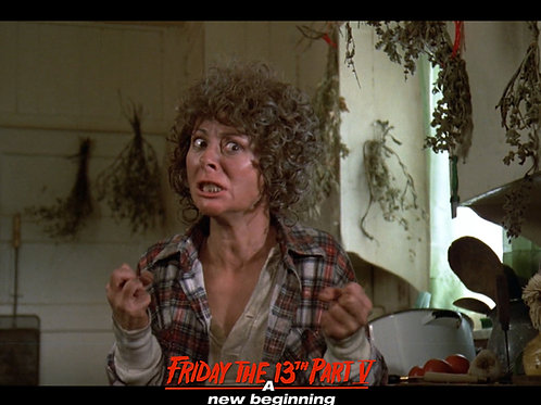 Carol Locatell Friday the 13th Part 5 - Ethel Fists - 8X10