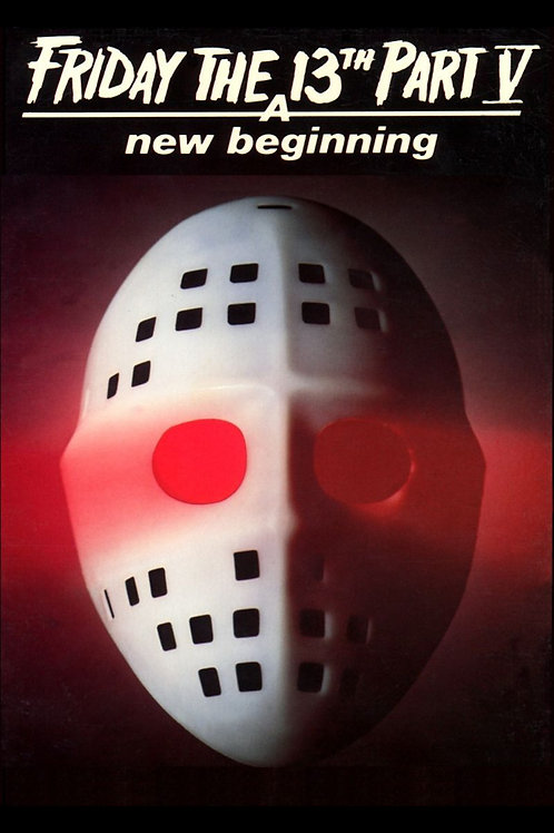 11X17 Friday the 13th Part V: A New Beginning Poster - White Mask