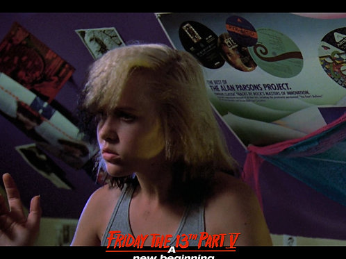 Tiffany Helm as Violet Friday the 13th Part 5 - Dance 2 Profile 8