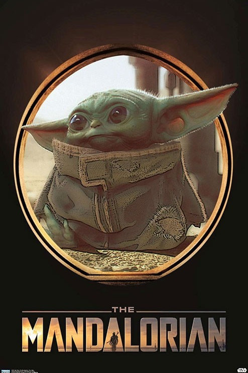 "Star Wars Baby Yoda The Child 22""X34"" Poster"