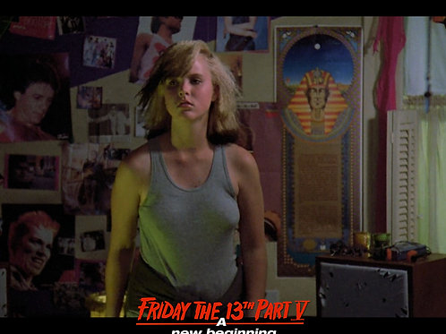 Tiffany Helm as Violet Friday the 13th Part 5 - What's That Noise? 8