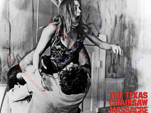 Teri McMinn Texas Chainsaw Massacre - Hook BTS - 8X10