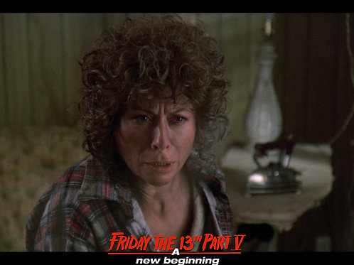 Carol Locatell Friday the 13th Part 5 - Ethel WTF Do You Want? - 8X10