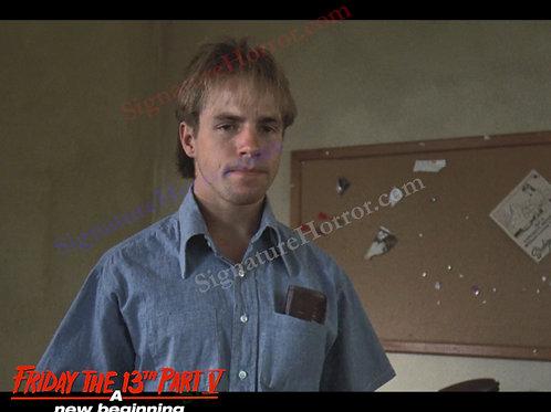 John Shepherd - Friday the 13th Part V - Meeting Reggie 6 - 8X10
