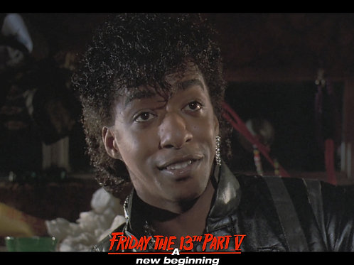 Miguel A Nunez Jr Friday the 13th Part 5 - Hey Pam - 8X10