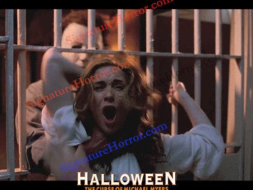 Marianne Hagan - Halloween 6 - Choking with Bars 4 - 8X10