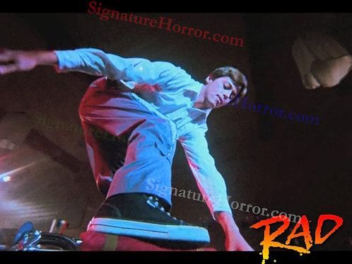 Bill Allen as Cru Jones in RAD - Dance 5 Handlebar Stand - 8X10