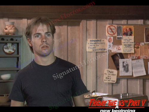 John Shepherd - Friday the 13th Part V - Breakfast 3 - 8X10