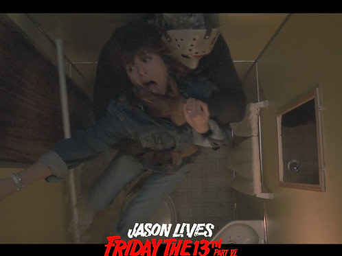 Darcy DeMoss Jason Lives: Friday the 13th Part VI - Bathroom 1 - 8X10
