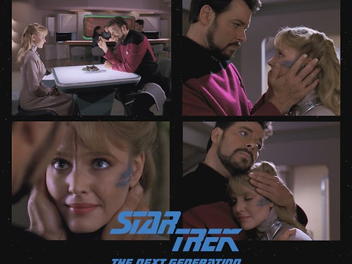Lisa Wilcox - Star Trek: TNG - Yuta with Riker Collage - 8X10