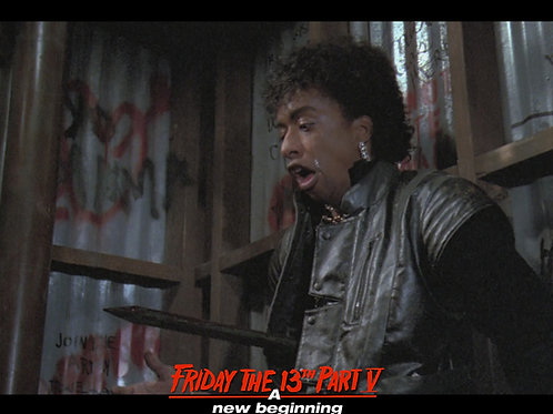 Miguel A Nunez Jr Friday the 13th Part 5 - Impaled - 8X10