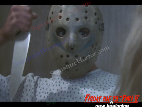 John Shepherd - Friday the 13th Part V - Hospital 20 - 8X10