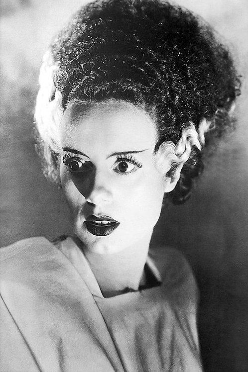 "Bride of Frankenstein Black & White 24""X36"" Poster"