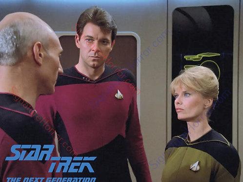 Brooke Bundy - Star Trek: TNG - Bridge 6 - 8X10