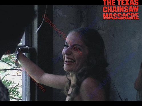 Teri McMinn Texas Chainsaw Massacre - Laughing 1 - 8X10