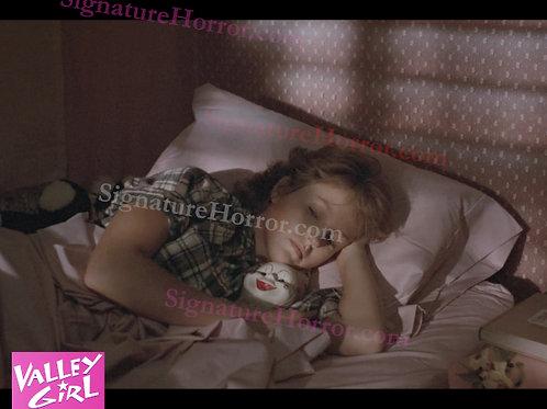 Deborah Foreman - Valley Girl - Bed Creepy Clown - 8X10