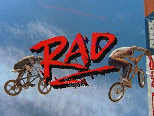 Bill Allen as Cru Jones in RAD - Title Scene - 8X10