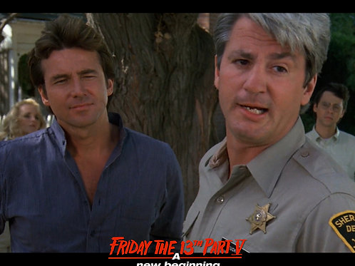 Marco St John and Richard Young Friday the 13th Part 5 - Here Comes Ethel 8X10