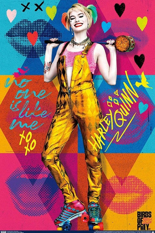 "Birds of Prey Harley Quinn 22""X34"" Poster"