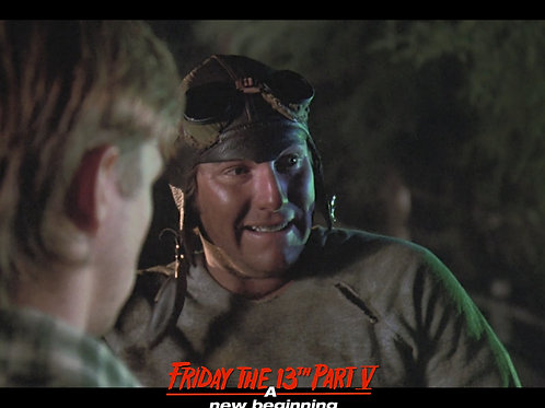 Ron Sloan as Junior Friday the 13th Part 5 - Look Away 8X10