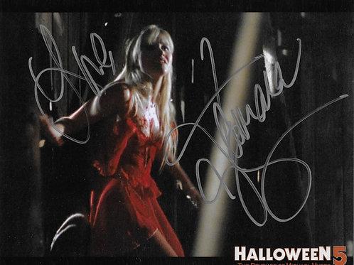 Tamara Glynn signed 8X10 Halloween 5: The Revenge of Michael Myers