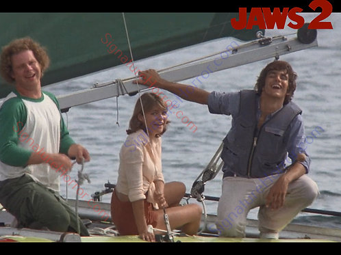 Donna Wilkes - Jaws 2 - Sailing Fun 6 - 8X10