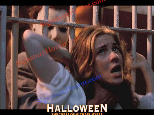Marianne Hagan - Halloween 6 - Choking with Bars - 8X10