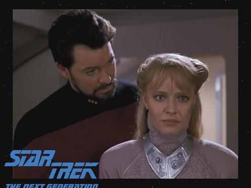 Lisa Wilcox - Star Trek: TNG - With Riker 2 - 8X10
