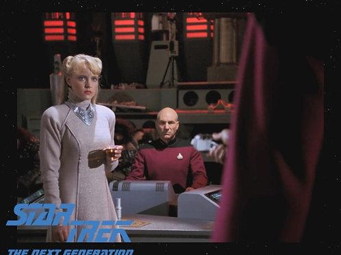 Lisa Wilcox - Star Trek: TNG - With Picard 1 - 8X10