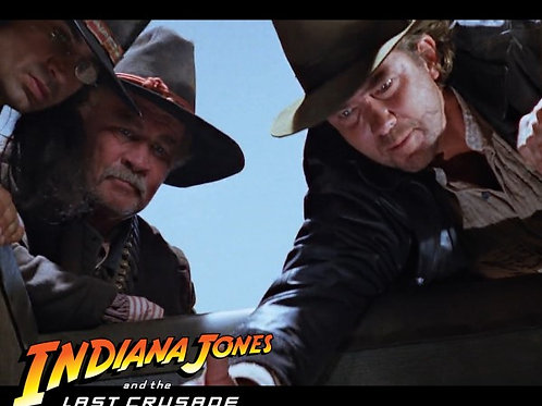 Richard Young as Fedora in The Last Crusade - Helping Hand 8X10