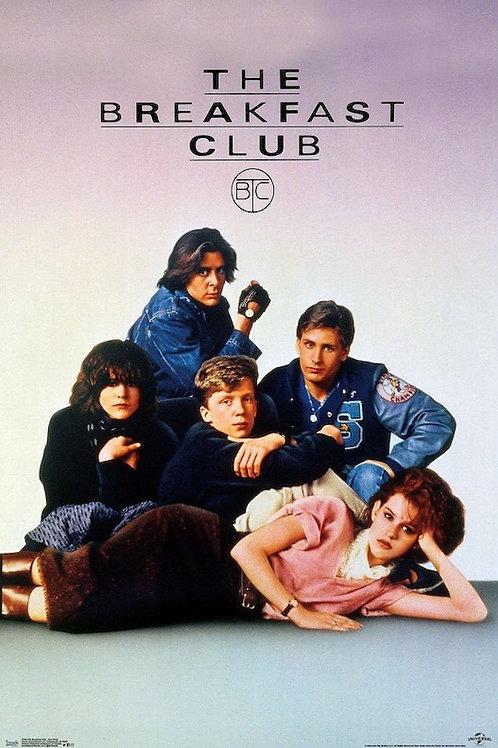 "The Breakfast Club 22""X34"" Poster"