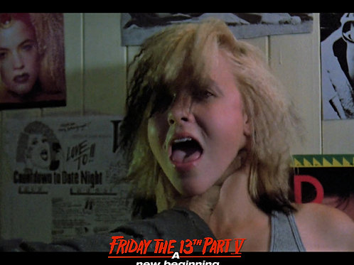 Tiffany Helm as Violet Friday the 13th Part 5 - Choke 8X10