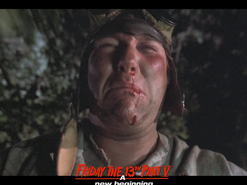 Ron Sloan as Junior Friday the 13th Part 5 - Ridin' N Cryin' 8X10