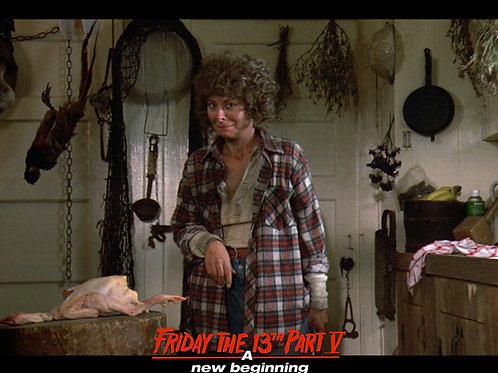 Carol Locatell Friday the 13th Part 5 - Ethel 7 Smile - 8X10
