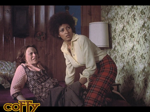 Carol Locatell - Coffy - with Pam Grier 2 - 8X10