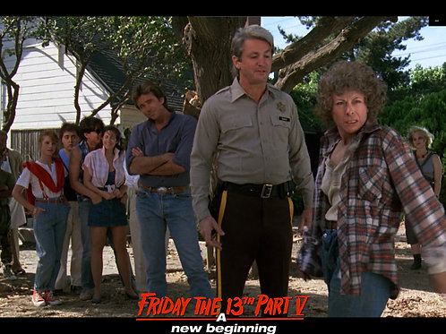 Carol Locatell Friday the 13th Part 5 - Ethel Shut Up - 8X10