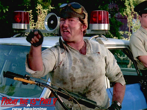 Ron Sloan as Junior Friday the 13th Part 5 - You Tell'em Ma! 8X10